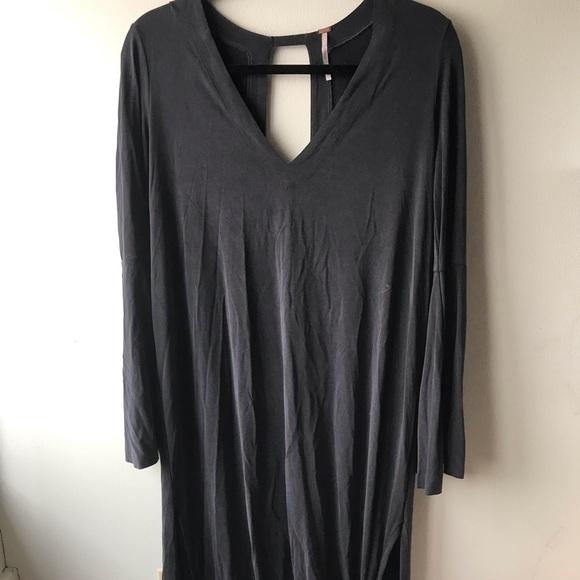 c754e06f04d9 Free People Dresses | Bell Sleeve Cut Out Back Maxi | Poshmark